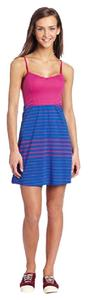 Volcom short dress Pink and blue Sundress on Tradesy