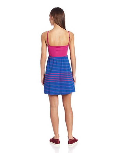 Volcom short dress Pink and blue Sundress on Tradesy Image 1