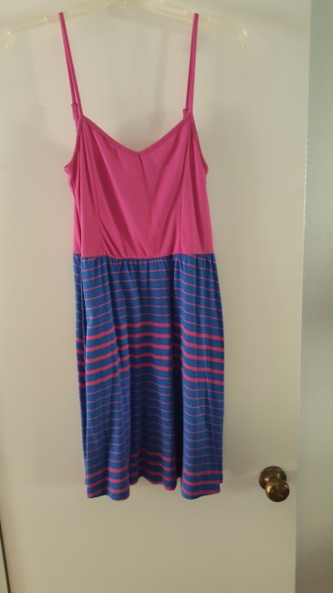 Volcom short dress Pink and blue Sundress on Tradesy Image 2