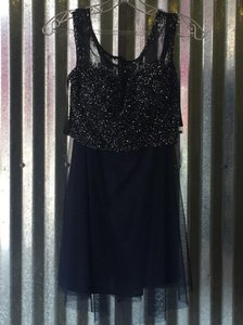 Shail K. short dress Navy on Tradesy