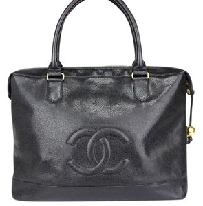 Chanel Business Tote in Black