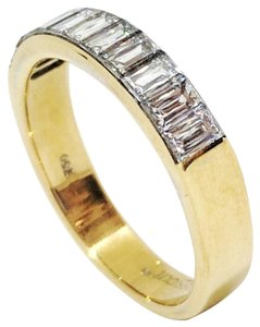 Christopher Designs Christopher Designs 18K Yellow Gold Crisscut Diamond Ring