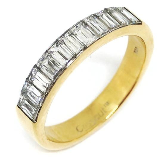 Christopher Designs Christopher Designs 18K Yellow Gold Crisscut Diamond Ring Image 1