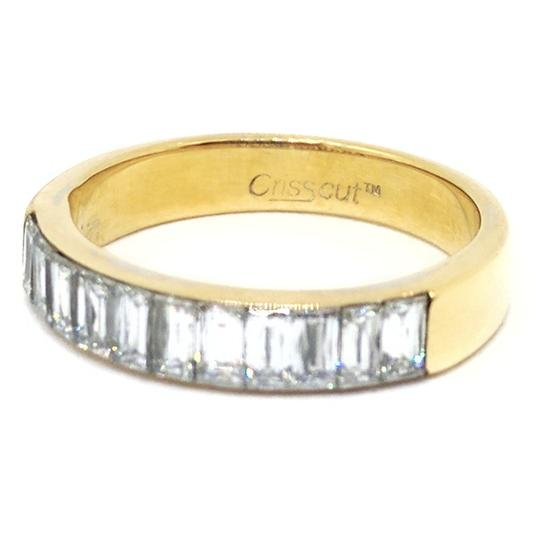 Christopher Designs Christopher Designs 18K Yellow Gold Crisscut Diamond Ring Image 2