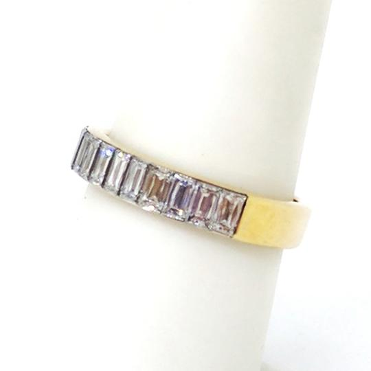 Christopher Designs Christopher Designs 18K Yellow Gold Crisscut Diamond Ring Image 6