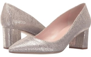 Kate Spade Old Gold Mettalic Tejus Pumps