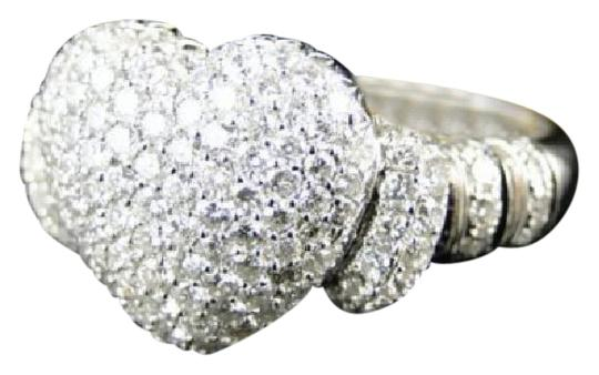 Other 10K Ladies Vs Diamond Promise Love Heart Ring 1.60 Ct Image 0