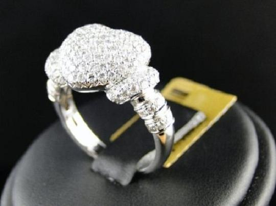Other 10K Ladies Vs Diamond Promise Love Heart Ring 1.60 Ct Image 2