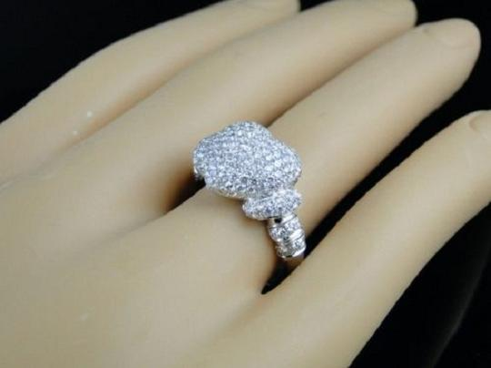 Other 10K Ladies Vs Diamond Promise Love Heart Ring 1.60 Ct Image 4