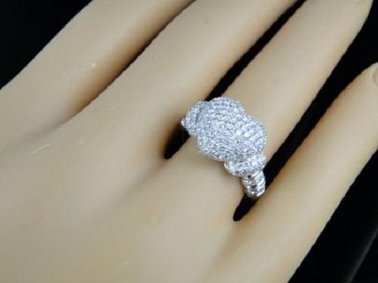 Other 10K Ladies Vs Diamond Promise Love Heart Ring 1.60 Ct Image 6