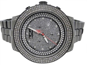 Joe Rodeo JOE RODEO/JOJO PILOT JRPL36 DIAMOND CHRONO WATCH 3.15 CT