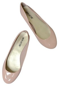 East Side Patent Shiny Pink Blush Flats