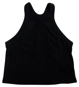 Truly Madly Deeply Cropped Urban Outfitters Small Top Black