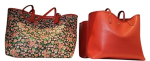 Coach Tote in Floral Red