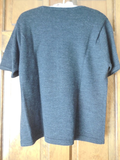 Talbots Wool Embroidered Short Sleeves Rounded Neckline Dry Clean Sweater Image 5