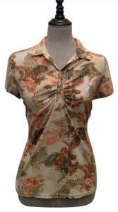 Bette & Court Top Beige/ Multicolor