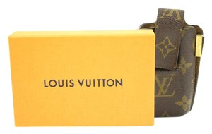 Louis Vuitton Monogram Etui Mobile Case 27LVA3117