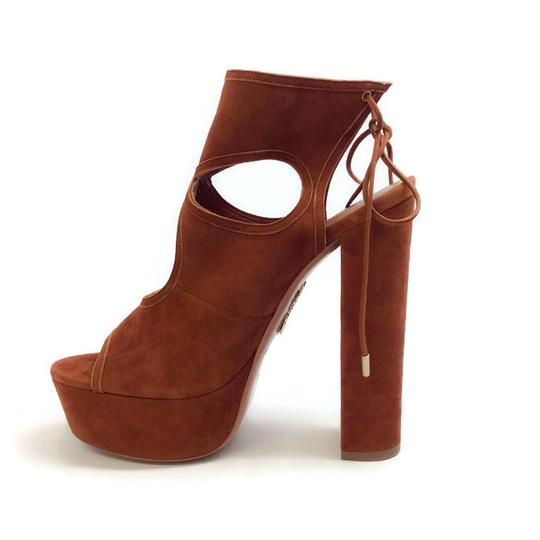 Aquazzura tan Platforms Image 2