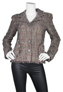 Chanel Tweed Boucle Multi-colored Jacket