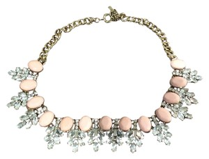 JEWELMINT Jewelmint pink leaf statement necklace