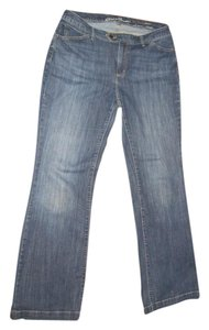 Eddie Bauer Trouser/Wide Leg Jeans-Light Wash