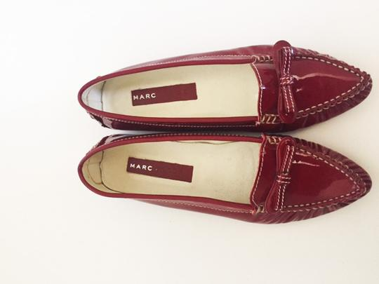 Marc by Marc Jacobs Patent Red Flats Image 1