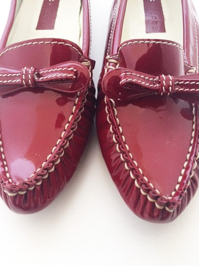 Marc by Marc Jacobs Patent Red Flats Image 2