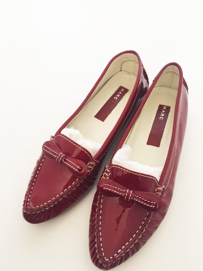 Marc by Marc Jacobs Patent Red Flats Image 3