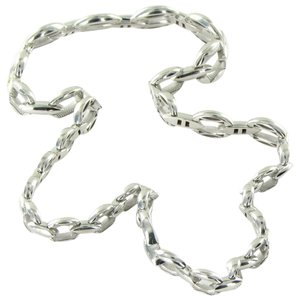 Tacori 18k925 Ivy Lane Cresent Escalating Links Necklace Sterling
