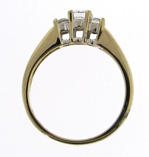 Other 14k gold 3 stone 1/2 carat diamond ring Image 1