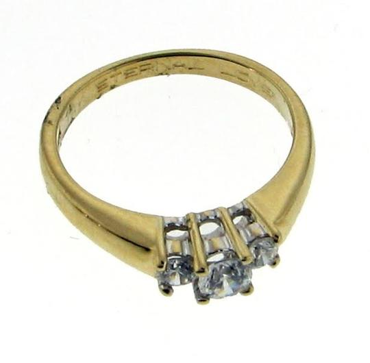 Other 14k gold 3 stone 1/2 carat diamond ring Image 2
