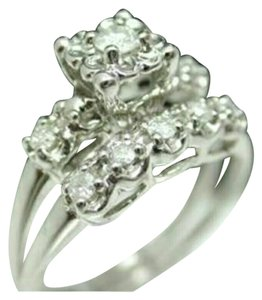 Jewelry liquidation $1950 Antique design 10K White Gold 0.50CTW genuine Diamond Bridal wedding or Engagement set. or other use ~~Ring Size 6.5- 6.75. ~~Ring weight 3.5 Grams ~~Material:10k White Gold, 0.50ctw Diamond I1-I2 I-J Provided by jeweler