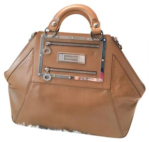 Versace Satchel in tan