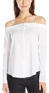 Bailey 44 Had My Love Top XS Button Down Shirt White