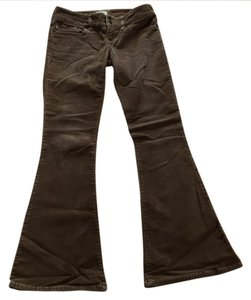 Abercrombie & Fitch Flare Pants Brown