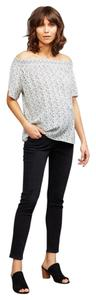 AG Adriano Goldschmied Maternity Maternity Maternity Pants Skinny Jeans-Distressed