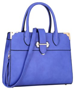 Anais Gvani Bags Hippie Boho The Treasured Hippie Large Handbags Affordable Satchel in Royal Blue