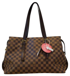 Louis Vuitton Lv Chelsea Damier Ebene Shoulder Bag
