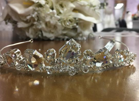 Bel Aire Bridal Headpiece Tiara Style 983 Hair Accessory Image 1
