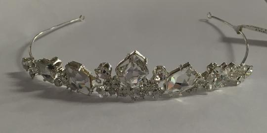Bel Aire Bridal Headpiece Tiara Style 983 Hair Accessory Image 2