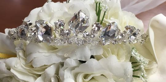 Bel Aire Bridal Headpiece Tiara Style 983 Hair Accessory Image 6