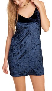 Hollister Velvet Slip Sold Dress