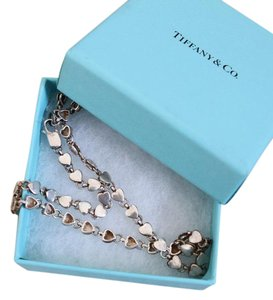 Tiffany & Co. sterling heart necklace