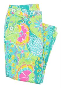 Lilly Pulitzer Southern Belle Cropped Denim Pants Pants Capris Capri/Cropped Denim