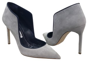 Manolo Blahnik 6 36 Grey Pumps