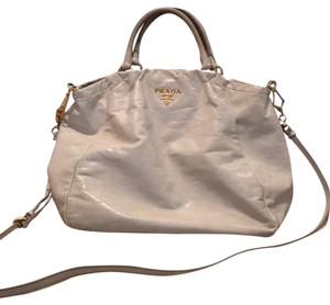 Prada Tote in cream and gold