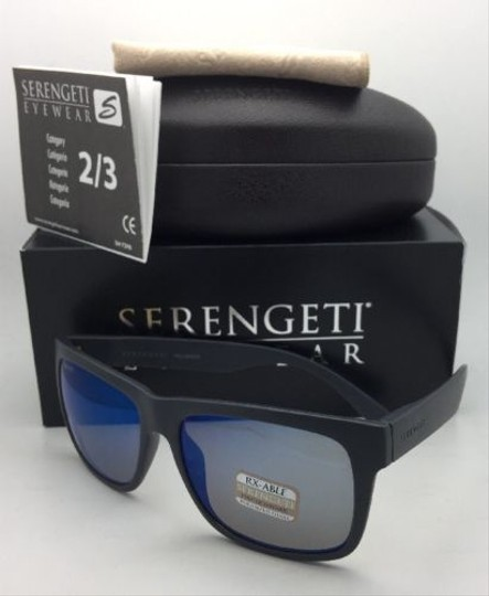 Serengeti SERENGETI PHOTOCHROMIC POLARIZED Sunglasses POSITANO 8372 PKT Grey w/M Image 3