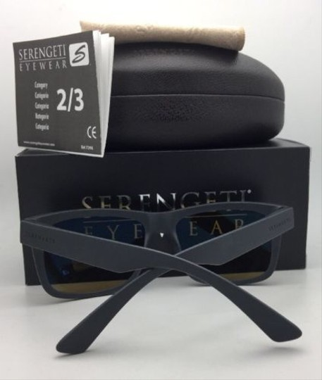 Serengeti SERENGETI PHOTOCHROMIC POLARIZED Sunglasses POSITANO 8372 PKT Grey w/M Image 4