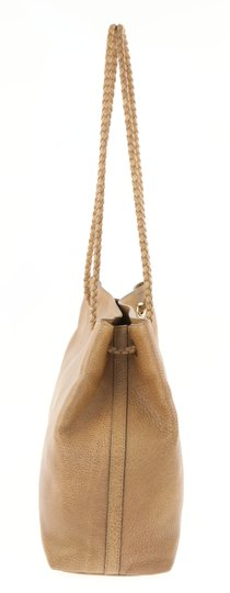 Gucci Calfskin Leather Gifford Tote in Brown Image 3