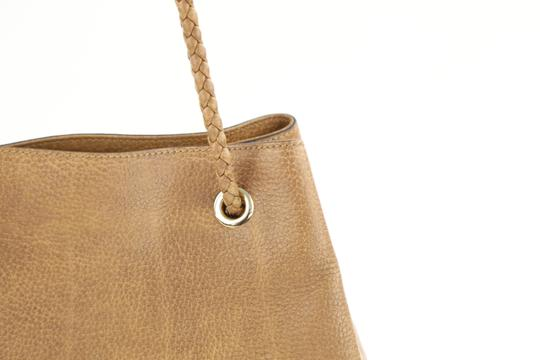 Gucci Calfskin Leather Gifford Tote in Brown Image 4